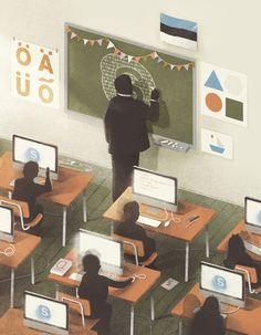 Education and technologies by Karolis Strautniekas