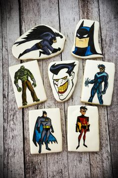 Painted Super Heros | Cookie Connection