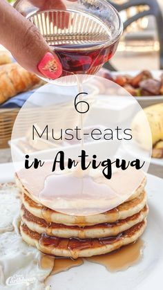 The Caribbean boasts some of the best food in the world. These must-eats in Antigua are among the best on the island and you won't want to pass them up! Restaurant Photos, Restaurant Offers, Travel Expert, Travel Tips, Lunch Recipes, Breakfast Recipes, Pineapple Farm, Rum Shop, Antigua Caribbean