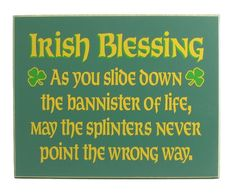 ♥ ♣ Irish Blessing for St.Patrick's Day or any day. ♣