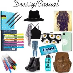 23d64a9eee6 Back to School -Outift  8 + Supplies Middle School Outfits