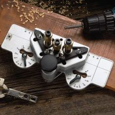 euro hinge drilling jig - integrated drill bits with hex drives