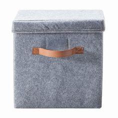 Felt Storage Box with Lid