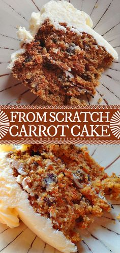 Made with real ingredients, this Carrot Cake is a Valentine's day treat you never knew you needed! This homemade Valentine's dessert is perfect for beginners because it is less fussy than other cakes. Topped with cream cheese frosting, this makes for a sweet and delightful treat!