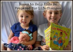 Books to help prepare kids for life changes - books that every family library should have!