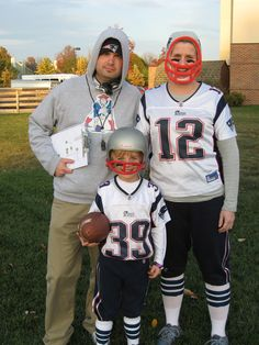 Patriots costumes for the family