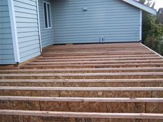 Adding flooring for the first floor addition