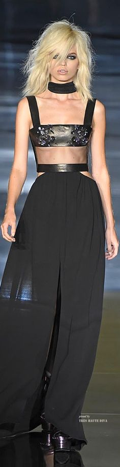 #LFW Tom Ford Spring Summer 2015 RTW (~lovely and chic pin created by Tres Haute Diva~♡c)