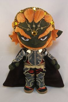 Ganondorf plushie... Am I alone on this when I admit that I think this is adorable and I want it?