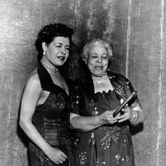 Billie Holiday and her mother Sadie Fagan