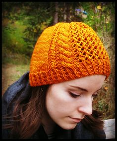 fd0829cdeb2 Autumn Sunset - A Beanie by Sarah Grieve ¬ malabrigo Rios in Sunset Beanie  Pattern