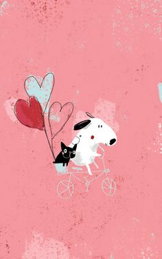 This could inspire an adorable Valentine. (Ilustración de Sophia Touliatou