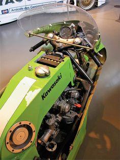 Kawasaki Race Bike