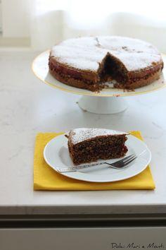 Dolci Mari e Monti  : Torta di  grano saraceno con burro trentino e conf...