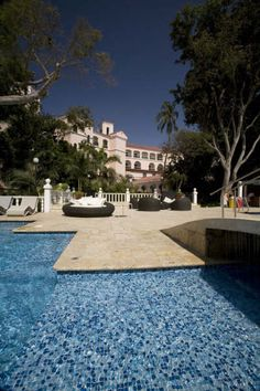 piscina, Hotel Celuisma Caribe, en Cartagena de Indias, Colombia.
