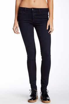 JOE'S JEANS The Ultra Slim Fit Ankle Skinny Jeans Pants Blue Malinda 26 $169 #7 #JoesJeans #SlimSkinny