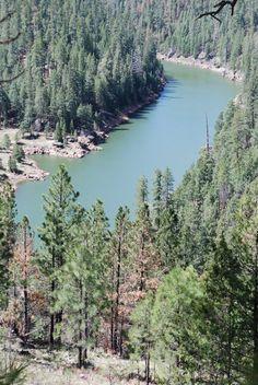 Blue Ridge Lake Reservoir near Payson Arizona