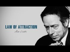 Alan Watts - Law Of Attraction - Most EPIC Speech Of All Time By Alan Watts