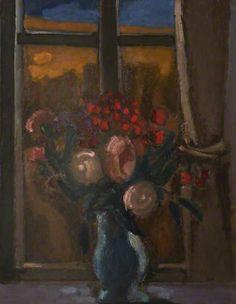 Josef Herman   1911-2000  Flowers