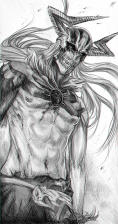 Transformations of Ichigo - Vasto Lorde form by RomaniacC on deviantART