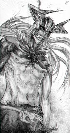 Transformations of Ichigo - Vasto Lorde form by RomaniacC on deviantART