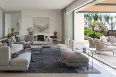 """The Cap Adriano experience"" by Minotti Architecture Student, Interior Architecture, Interior Exterior, Home Interior Design, Home Decoracion, Student House, Outdoor Furniture Sets, Outdoor Decor, Elle Decor"