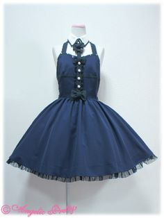Angelic Pretty - Midnight Doll JSK /// ¥26,040 /// Bust: 90~112 cm Waist: 69~94 cm Length: 81 cm