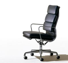 Eames Soft Pad Lounge Chair for Herman Miller by Charles and Ray Eames