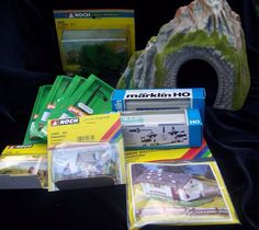 Marklin Noch Refrigerated Car HO Train Tunnel Advertising West Germany Lot of 11 #Marklin
