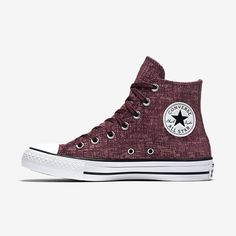 8380cc30a1feba Converse Chuck Taylor All Star Sparkle Knit High Top Women s Shoe Size 11  (Red) - Clearance Sale