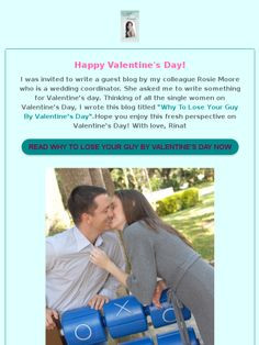 Why To Lose Your Guy By Valentine's Day