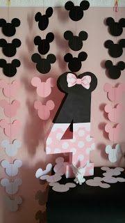 35 ideas de decoración para Fiesta Minnie Mouse Minie Mouse Party, Minnie Mouse Theme Party, Fiesta Mickey Mouse, Minnie Mouse 1st Birthday, Minnie Mouse Baby Shower, Mickey Party, Mickey Mouse Banner, Minnie Mouse Birthday Decorations, Birthday Parties