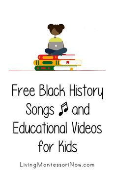 Lots of helpful free songs and educational videos about Black History Month and Black history for any time of year. Videos for a variety of ages for classroom or home - Living Montessori Now Preschool Songs, Preschool Themes, Kids Songs, Months Song, First Grade Curriculum, Sand Writing, Alphabet Phonics, Free Characters, Free Songs