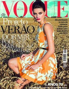 Isabeli Fontana Covers @Vogue Brasil #Fashion