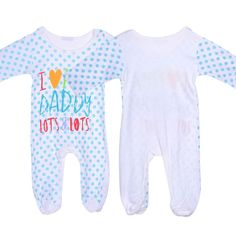 http://fashiongarments.biz/products/newborn-baby-rompers-love-mummy-daddy-romper-kids-long-sleeve-playsuit-0-3y/,    Cute Polka Dots Playsuit Infant Baby Long Sleeve Romper Love Mummy Daddy Costume 100% Brand New and High Quality. Tyle: Jumpsuit/Romper Occasion:  Everyday,Homewear Season: Spring/Summer/Fall Material: Cotton Blend Pattern: Love Mummy Daddy Striped Print Included: 1 pc Romper Size Details:(cm/inch) US Size Tag.Size  Length  Bust    Sleeve  ...,   , fashion garments store with…
