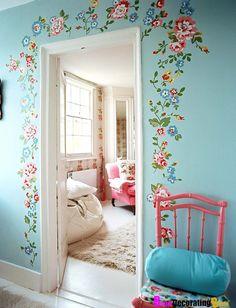 Pegatinas decorativas  para paredes