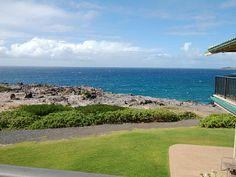 Kapalua Vacation Rental - VRBO 566627 - 2 BR West Maui Villa in HI, Gold Ocean Front 2 Bed/3bath Kapalua Bay Villa
