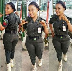 Hot! Check Out Photos Of This Pretty Nigerian Female Police Officer with Hips That Makes Criminals Turn A New Leave   The Nigeria Police Force is blessed with beautiful ladies/women who hardly get attention from men probably due to the serious and strict nature of their jobs.  If you believe Nigerian female police officers are not beautiful and captivating due to the general apathy attached to the sensitive occupation by the public then you need to have a rethink.  The Lagos State Police…