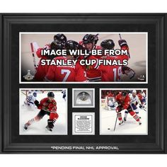 ece43d5b05a Chicago Blackhawks 2015 Stanley Cup Champions Framed 20   x 24    3-Photograph Collage with Game-Used Ice - Limited Edition of 250