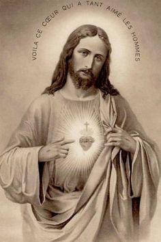 sacre coeur jesus - Buscar con Google