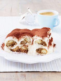 Genießen Sie die süßen Seiten des Sommers. Und mit ihm den italienischen Dessert-Klassiker Tiramisu - ohne Ei, aber mit ganz viel