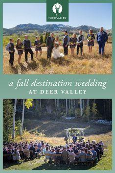 23 Best Summer And Fall Weddings At Deer Valley Images Deer