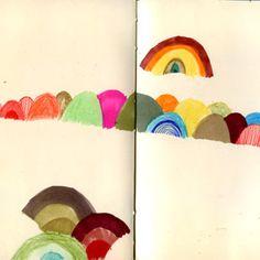 Book By Its Cover    » Sketchbook Series: Julie Morstad