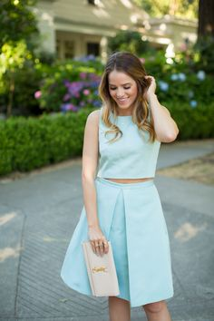 Tibi Top & Skirt