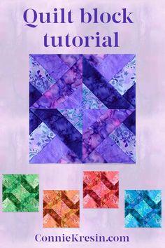 Quilt Square Patterns, Quilt Patterns Free, Pattern Blocks, Square Quilt, Quilting Tutorials, Quilting Projects, Batik Quilts, Star Quilt Blocks, Easter Peeps
