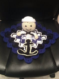 Ravelry: Anchors Aweigh, Sailor Lovey pattern by Amber Schaaf