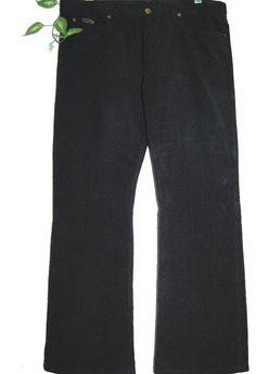 Armani Collezioni Authentic Cotton Velvet Black Men Italian Pants 40  NEW #ArmaniCollezioni #CasualPants
