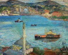 By Ibrahim Calli  (1882-1960): Turkish painter. http://www.turkishpaintings.com/content/mod_images/painters/works/large/brahim_calli_01_1.jpg