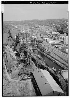Edgar Thomson Works 1908 Braddock Pennsylvania Site Of Braddock S Field Of Defeat
