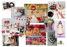 50s themed wedding by swimen | Olioboard- VOTE for me!